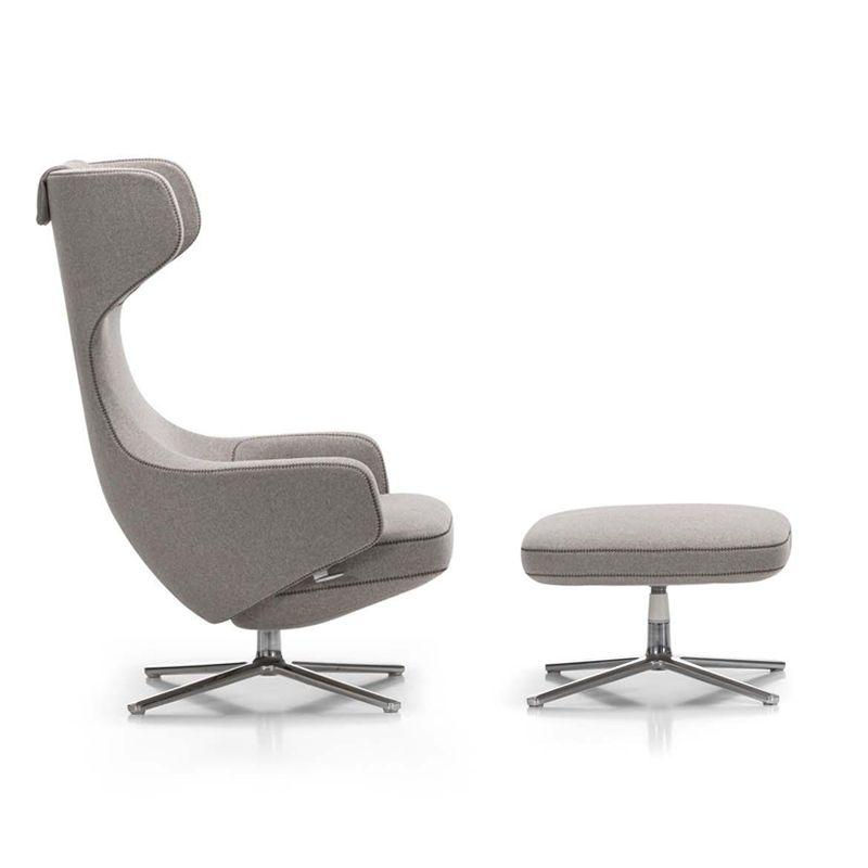 grand repos ottoman by antonio citterio for vitra fauteuils armchair pinterest. Black Bedroom Furniture Sets. Home Design Ideas