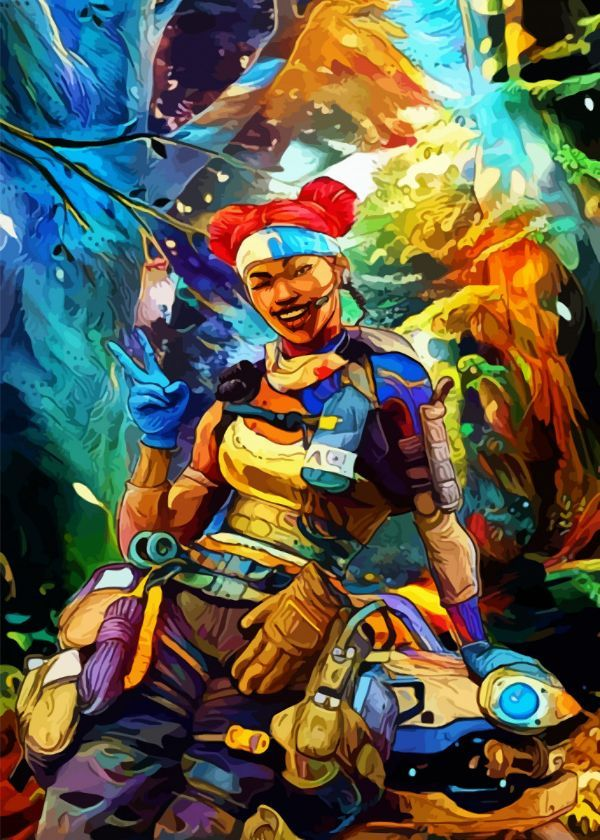 Apex Legends Surrealist Characters Displate Posters