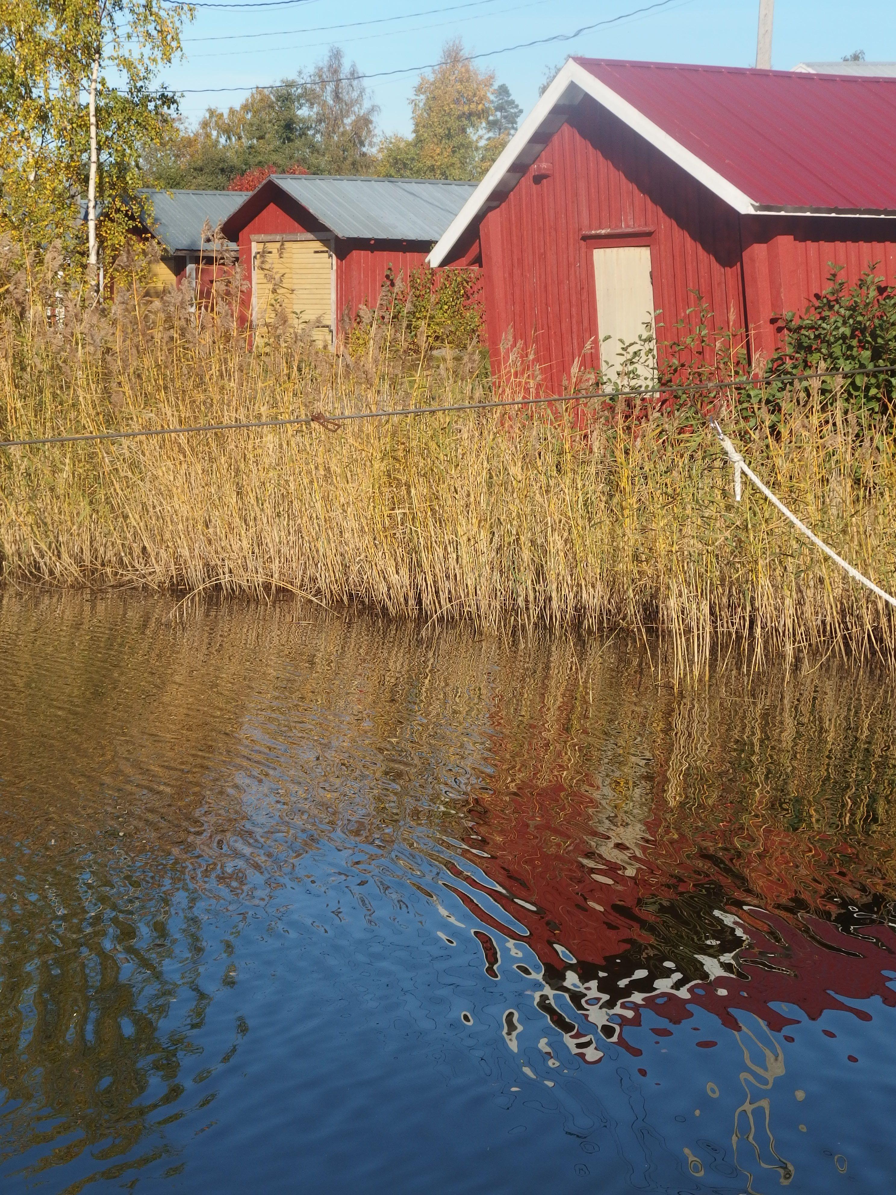 venemajoja Västervikissä