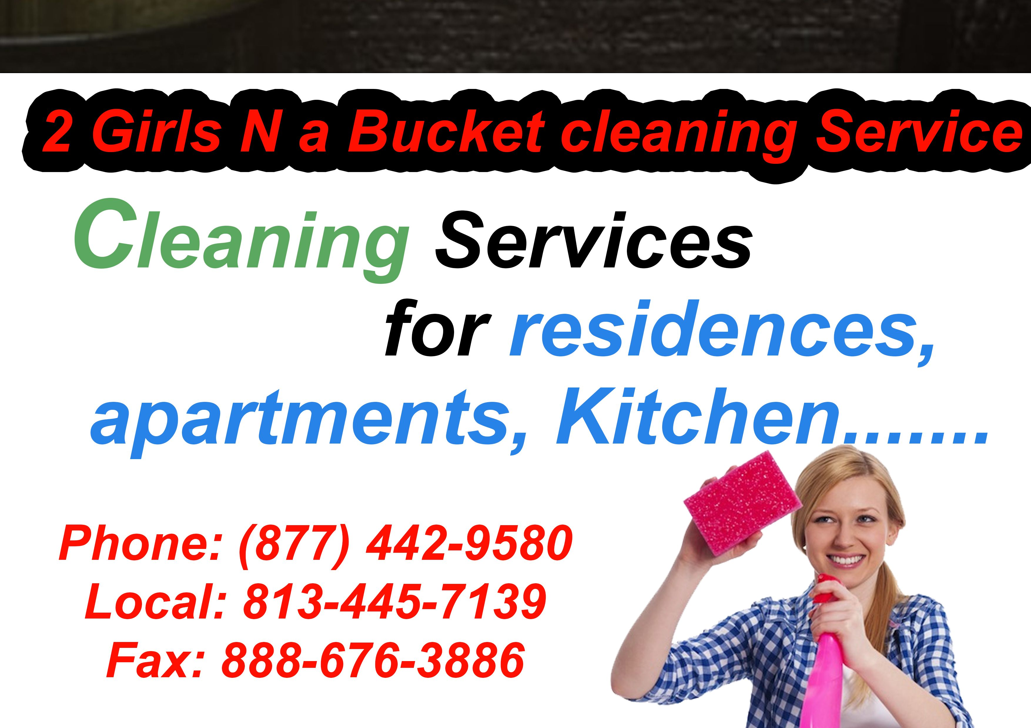 Cleaning services for residences apartments kitchen