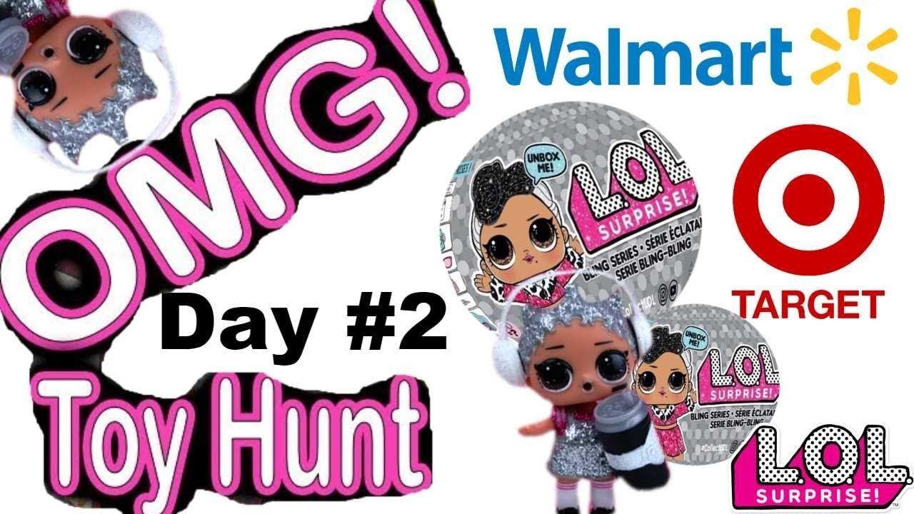 Lol Surprise Bling Series Dolls Toy Hunt Target Walmart Christmas