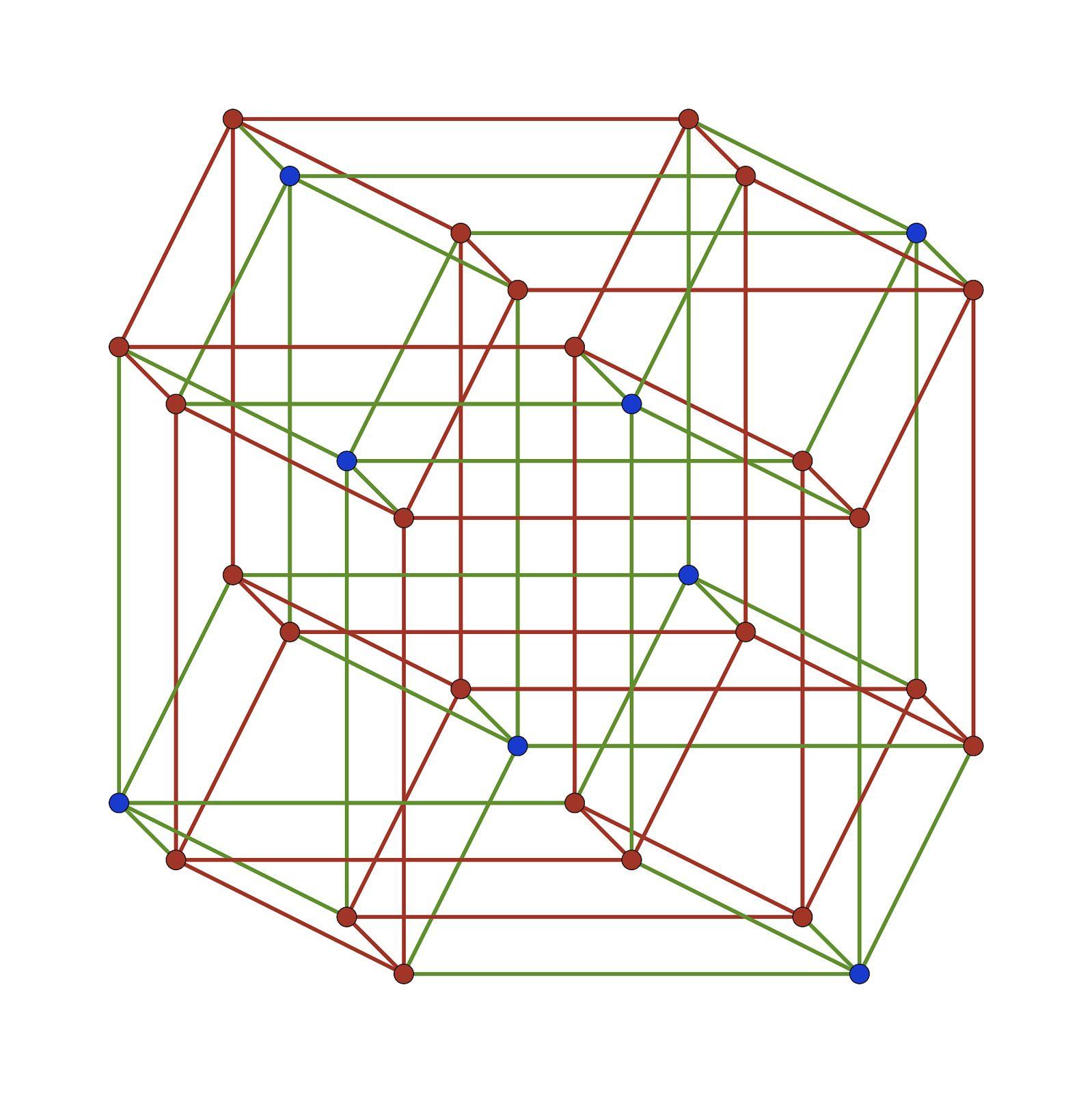 A five-dimensional cube | Geometry, Sacred geometry symbols, Learn art