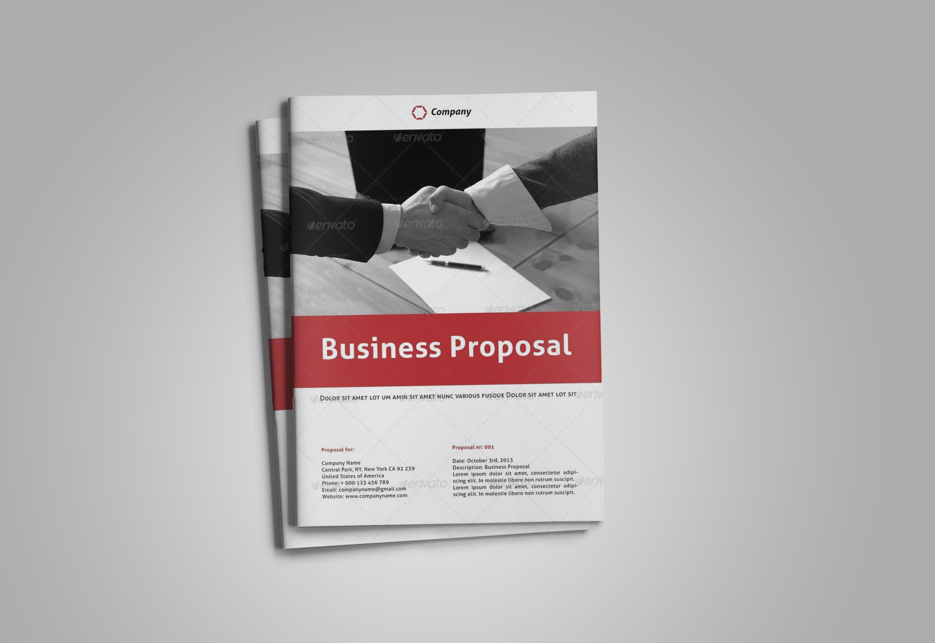 Business Proposal Template Business Proposal Template Business