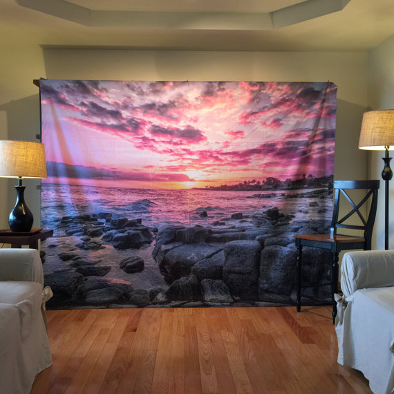 Tapestry, Kauai, Wall Hanging, Nature Tapestry, Kauai Tapestry ...