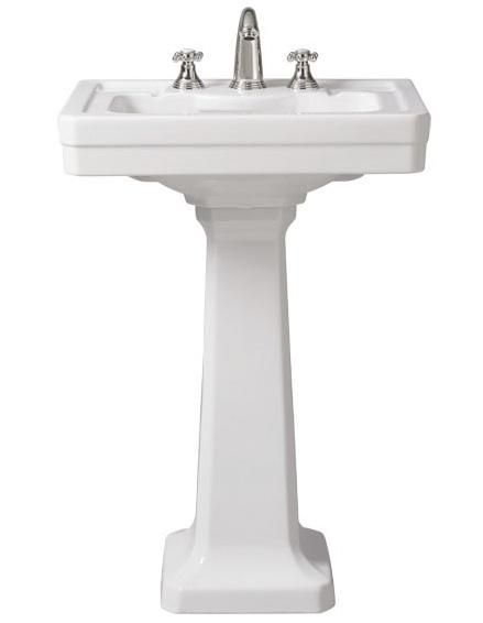 10 Easy Pieces Traditional Pedestal Sinks Pedestal Sink Sink
