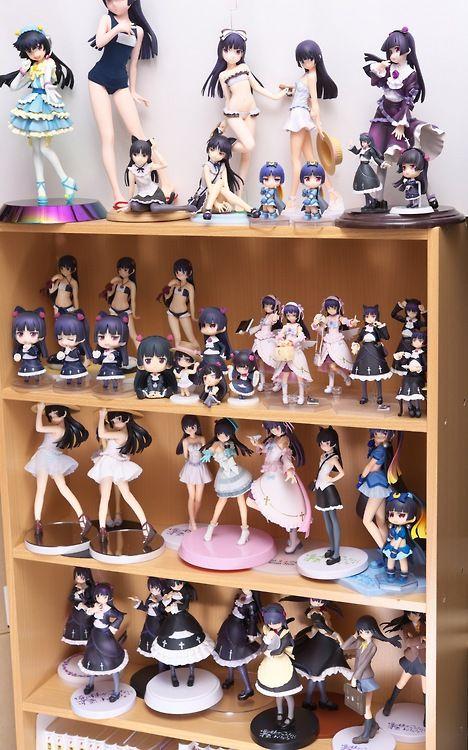Otaku Pride Decorating In Nerdy Anime Style Figures