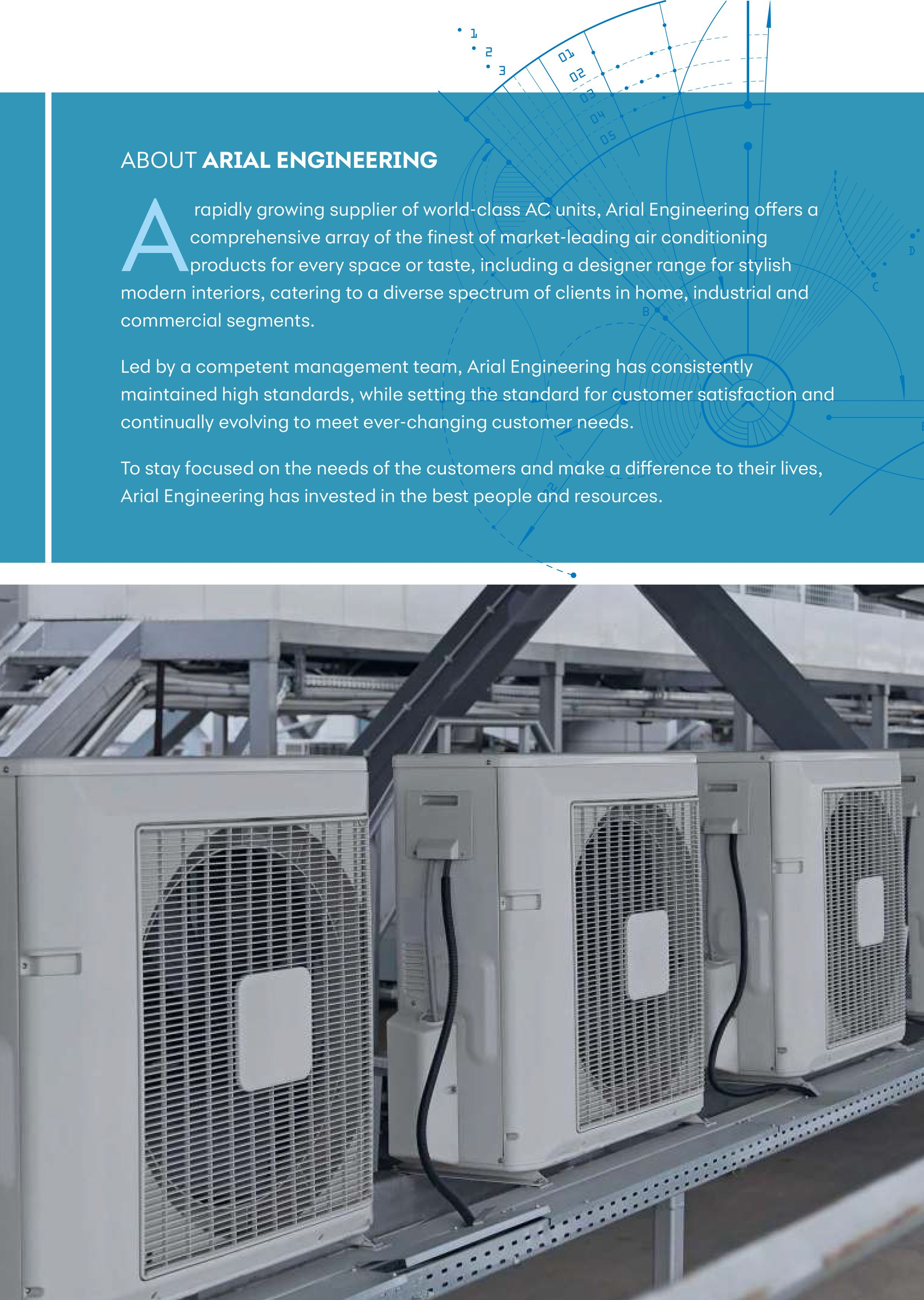 Company Brochure Arial Engineering Services Air