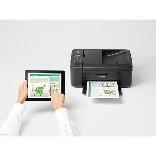 Pixma Mx492 Wifi All In One Compact Size Printer Scanner Copier Fax