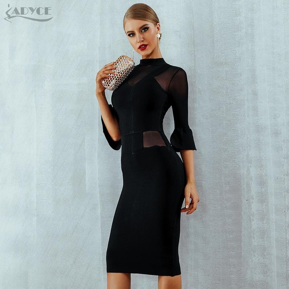270479b1bc Adyce New Summer Bandage Dress Women Vestidos Sexy Flare Sleeve ...