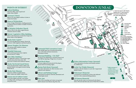 downtown map Places Id Like to Go Pinterest Alaska and Cruises