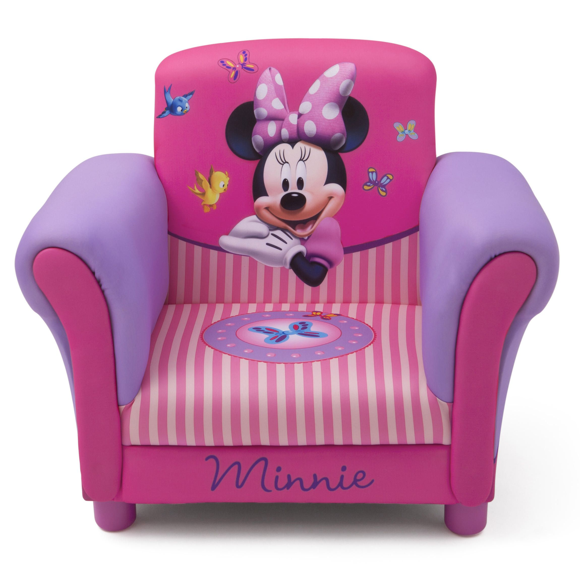 Lila Minnie Mouse Kleinkind Bett, Kinder Stühle Minnie Mouse ...