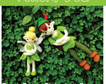 Pattern deal peter pan and tinkerbell amigurumis pinterest pattern deal peter pan and tinkerbell dt1010fo