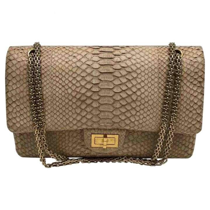2c1df32ced2da9 2.55 Python Handbag #good#condition | Street Styles Casual in 2019 ...
