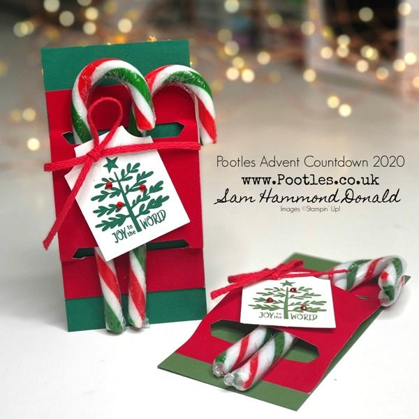 Hammonds Candy Cane Christmas 2020 Pootles Advent Countdown 2020 Velveteen Paper Candy Cane Treat