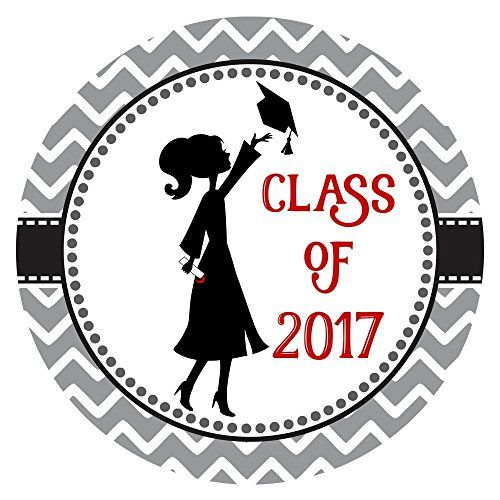 Milestones From 2017 Into 2018: Class Of 2017 Graduation Sticker Labels