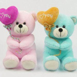 Sweet Teddy Bear Love U Hd Wallpaper