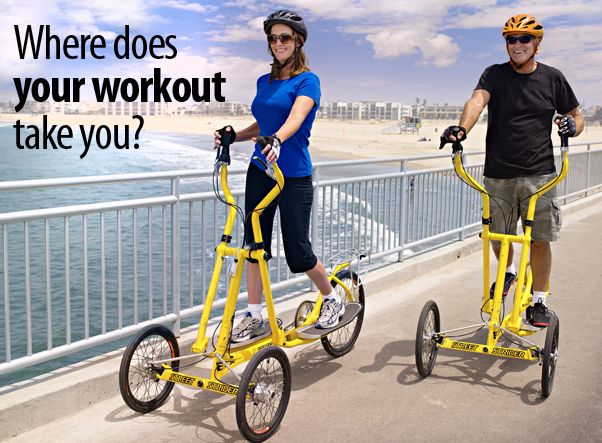 StreetStrider - The Elliptical that MOVES You!