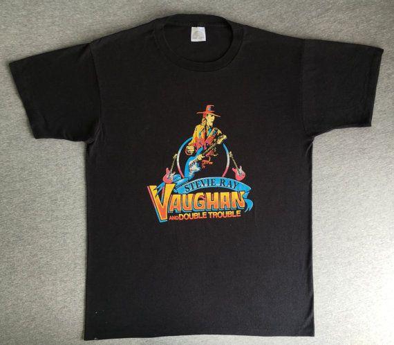 Vintage STEVIE RAY VAUGHAN shirt Lb4UnAeTW0