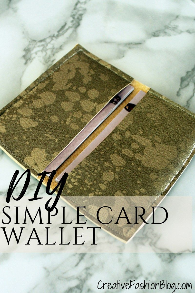 Easy diy business card wallet tutorial wallet tutorial business diy faux suede business card holder wallet tutorial with free printable pdf pattern this tutorial reheart Choice Image