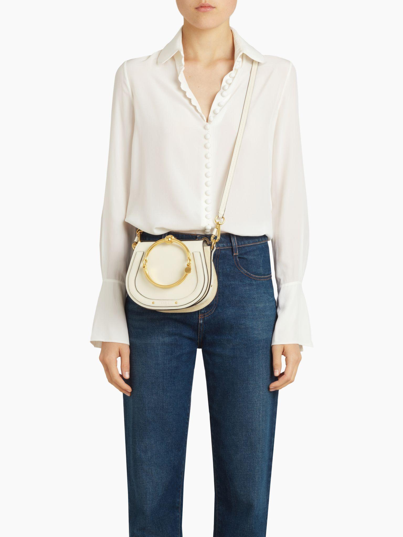1bf80d1df52d Discover Small Nile Bracelet Bag and shop online on CHLOE Official Website.  3S1301HEU