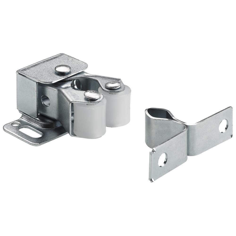 Everbilt Double Roller Door Catch With Spear Zinc Plated Value Pack 50 Pack Zinc Plating Roller Doors Door Catches