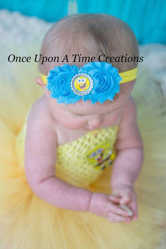 Hey, I found this really awesome Etsy listing at https://www.etsy.com/listing/186870964/spongebob-squarepants-headband-toddler