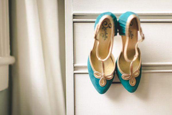 Savannah Destination Wedding Teal ShoesTeal