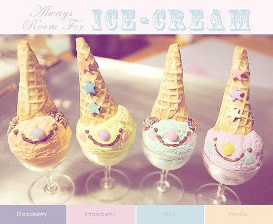 Smiley Ice-Cream Peeps!