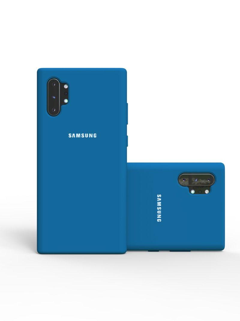 سامسونج نوت 10 زائد الحال الأصلي السائل سيليكون لينة الغطاء الخلفي سامسونج غالاكسي S10 زائد نوت 10 نوت 10 الحال بالنسبة غالاك Samsung Electronic Products Phone
