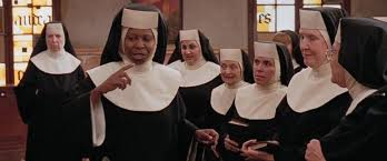 Sister Mary Clarence giving the church choir advice on how to sing together. #howtosing Sister Mary Clarence giving the church choir advice on how to sing together. #howtosing