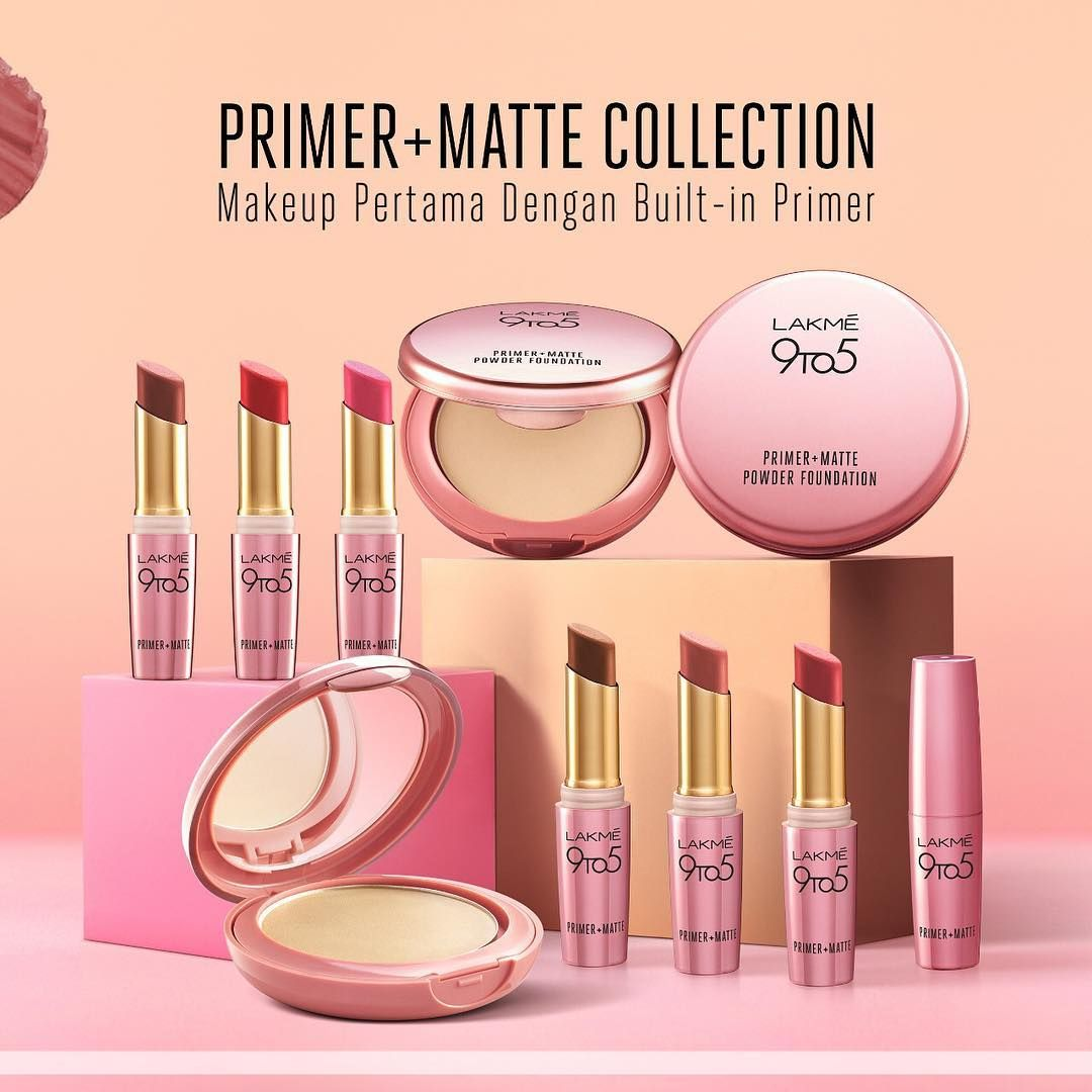 All In One Goodness From Lakme 9to5 Primer Matte Collection Dengan Built In Primer Makeup Stay Lebih Tahan Lama All Day Long Available
