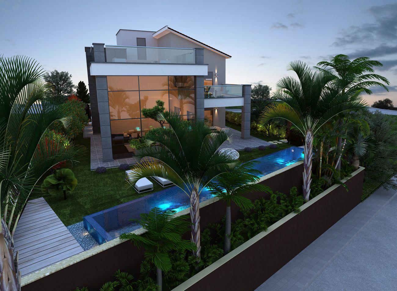 Modern beach villa - Limassol, Cipro