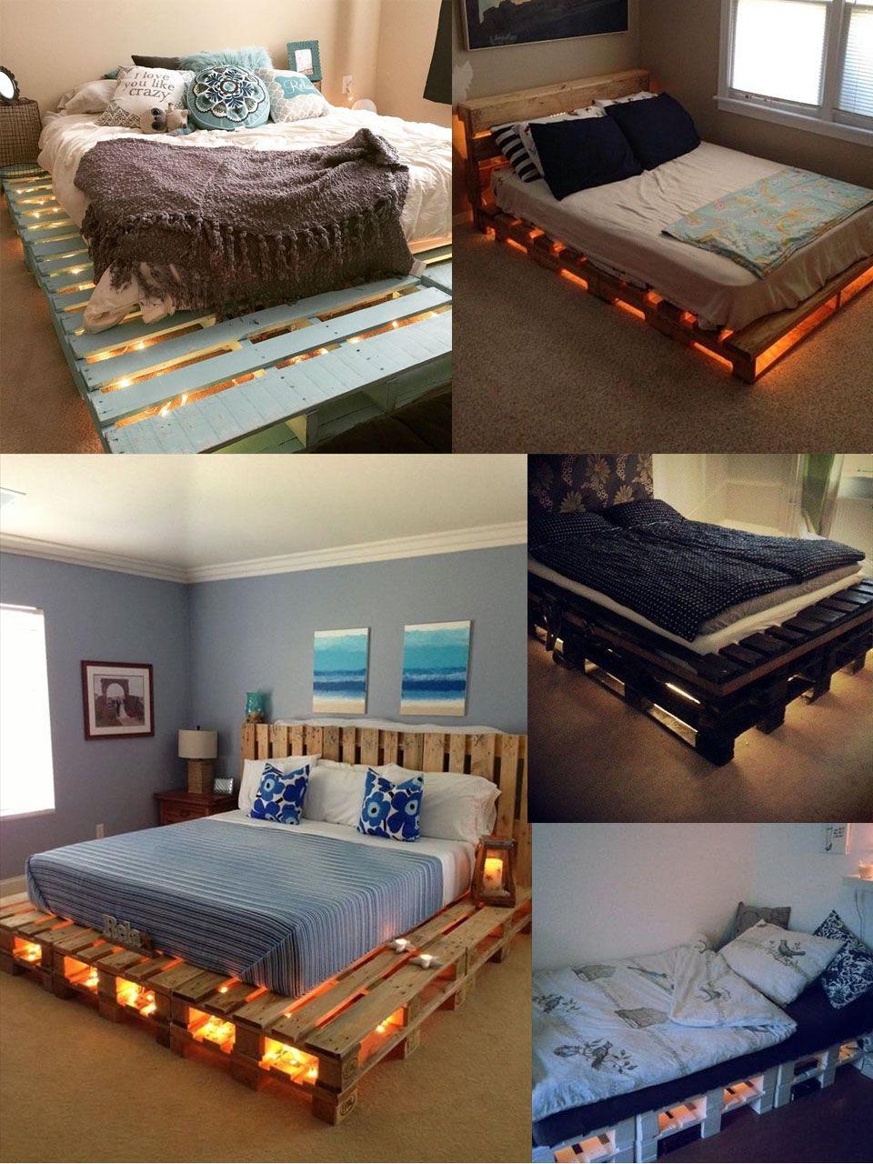 50 fantásticas ideas de muebles con palets reciclados | Muebles con ...