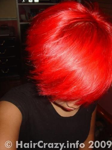 Candy Apple Red Special Effects Hair Dye | ... dye pink the last around fashion dark red nikki horror red effects