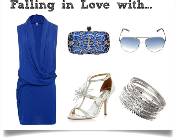 """""""Cool Blue"""" by nikita-grayson on Polyvore"""