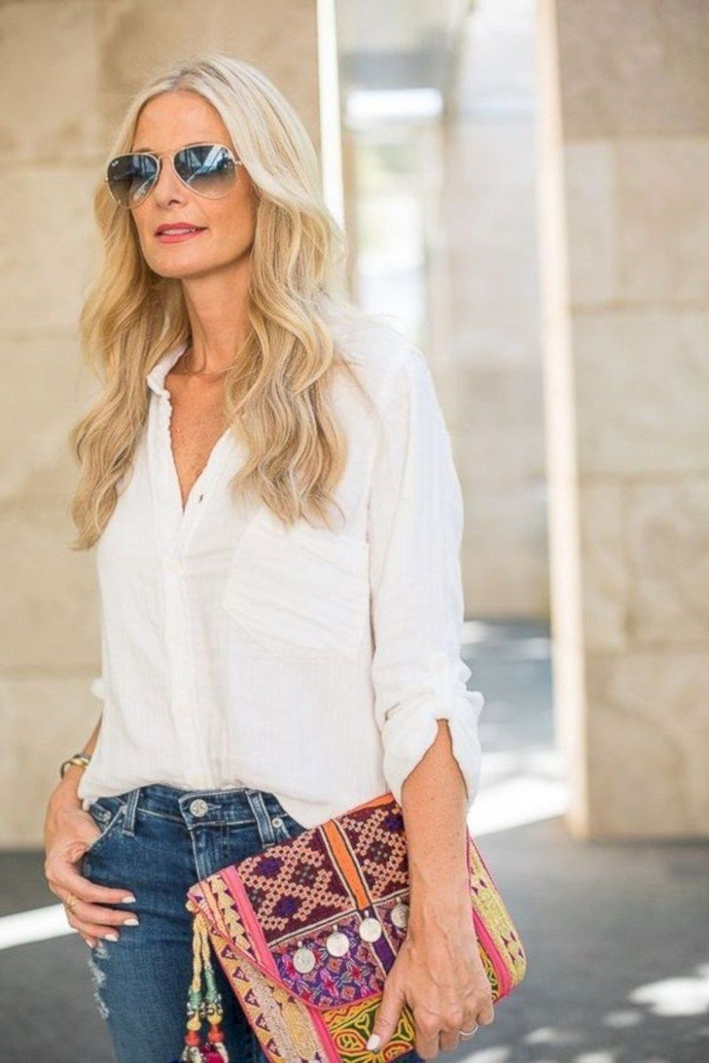 51 Trendy Spring and Summer Outfits Ideas For 40 Year Old Women – VIs-Wed