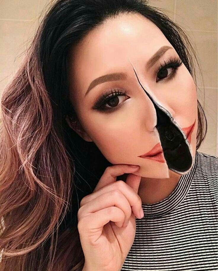 Pinterest Anahi Scary Makeup Halloween Makeup Looks Mehron Makeup