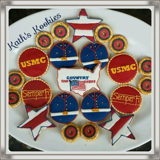 Marine Corp Cookies In 2019