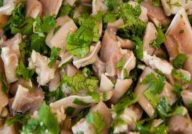 Salada de Orelha de Porco. Portugal