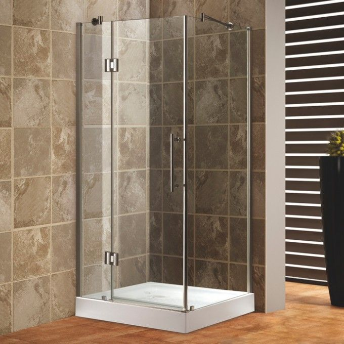 36 X 36 Square Corner Shower Enclosure Bathroom With Images