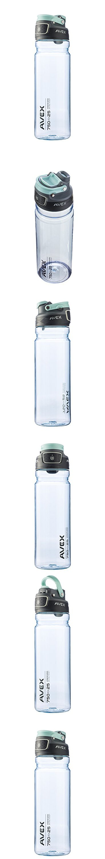 f8ab959fb6 AVEX FreeFlow Autoseal Water Bottle, Ice, 750ml/25 oz | Pinterest ...