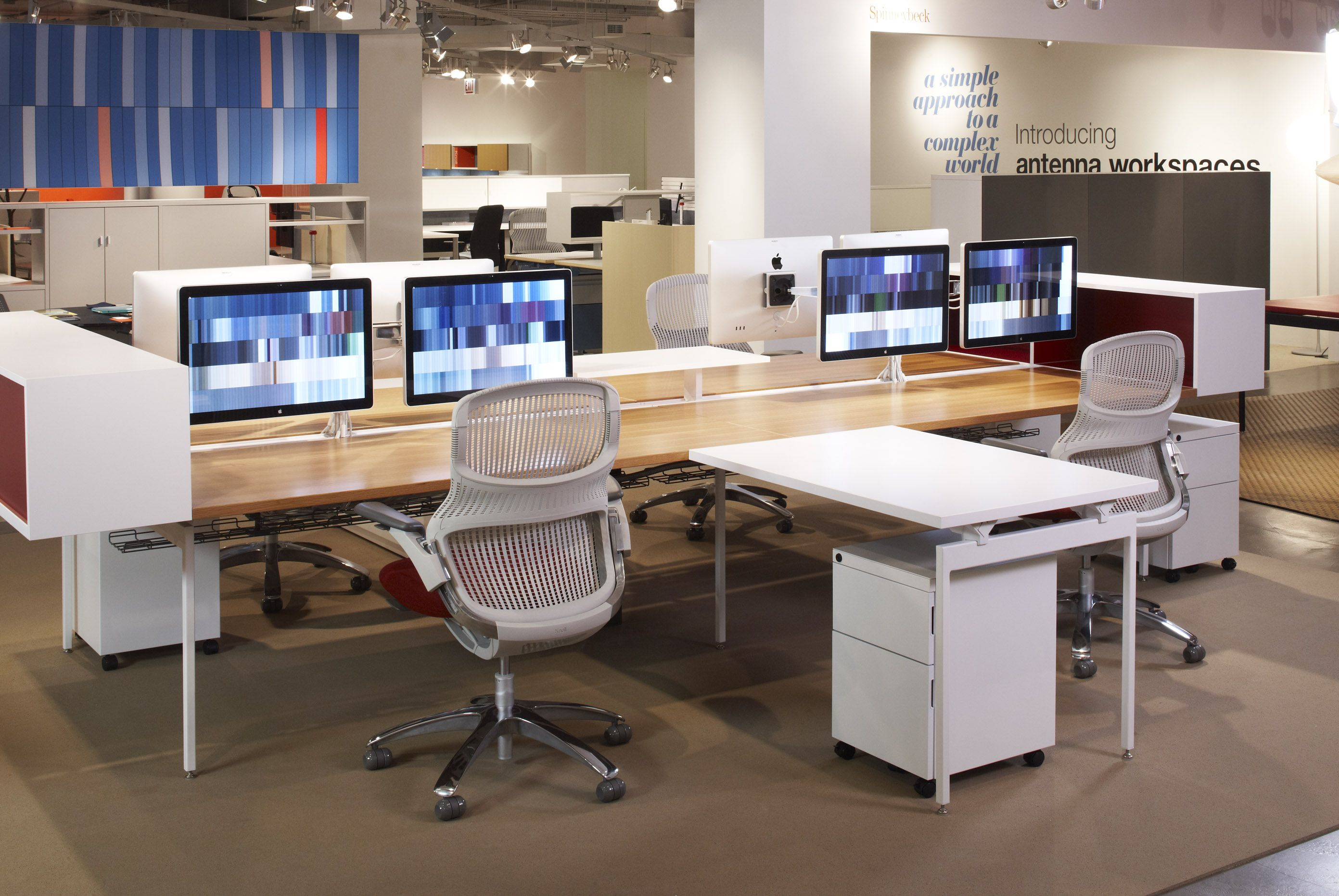 antenna workspaces and generationknoll chairs | knoll