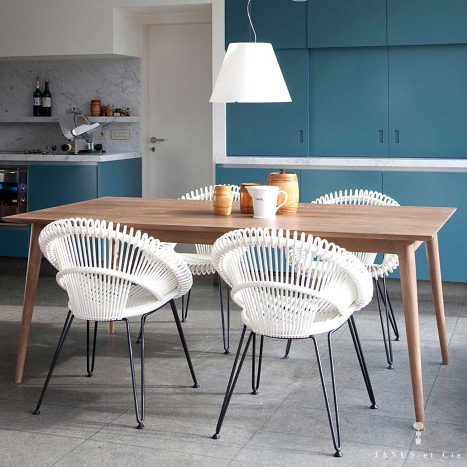 Cheap Contemporary Dining Chairs: Rattan Dining Chairs, Teak Dining