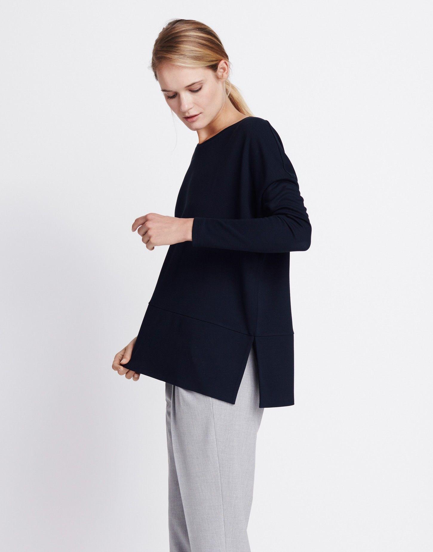 Oversize-Shirt blau online kaufen | Ulina cosmic blue von someday Fashion