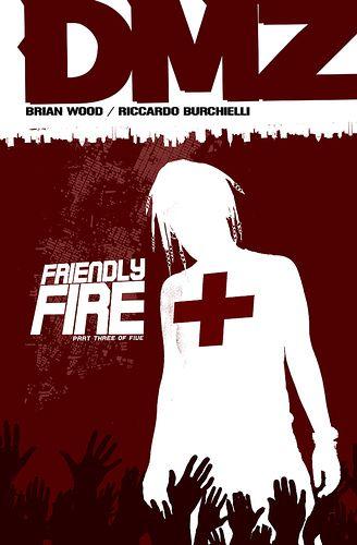 Friendly Fire,   DMZ, 21,  Riccardo Burchielli, Brian Wood