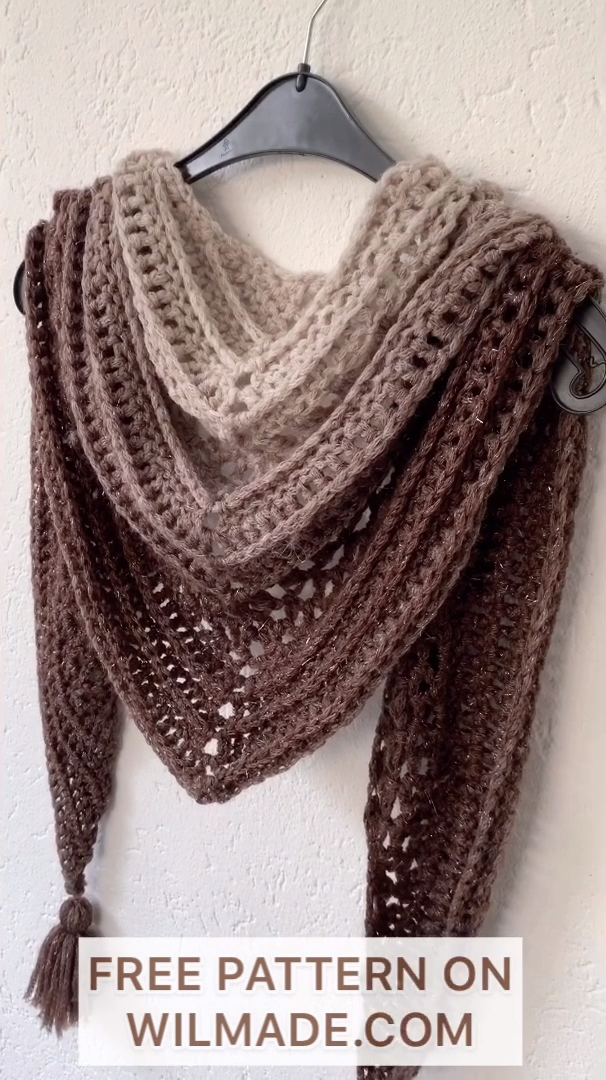Photo of This Is Me Shawl – FREE crochet pattern