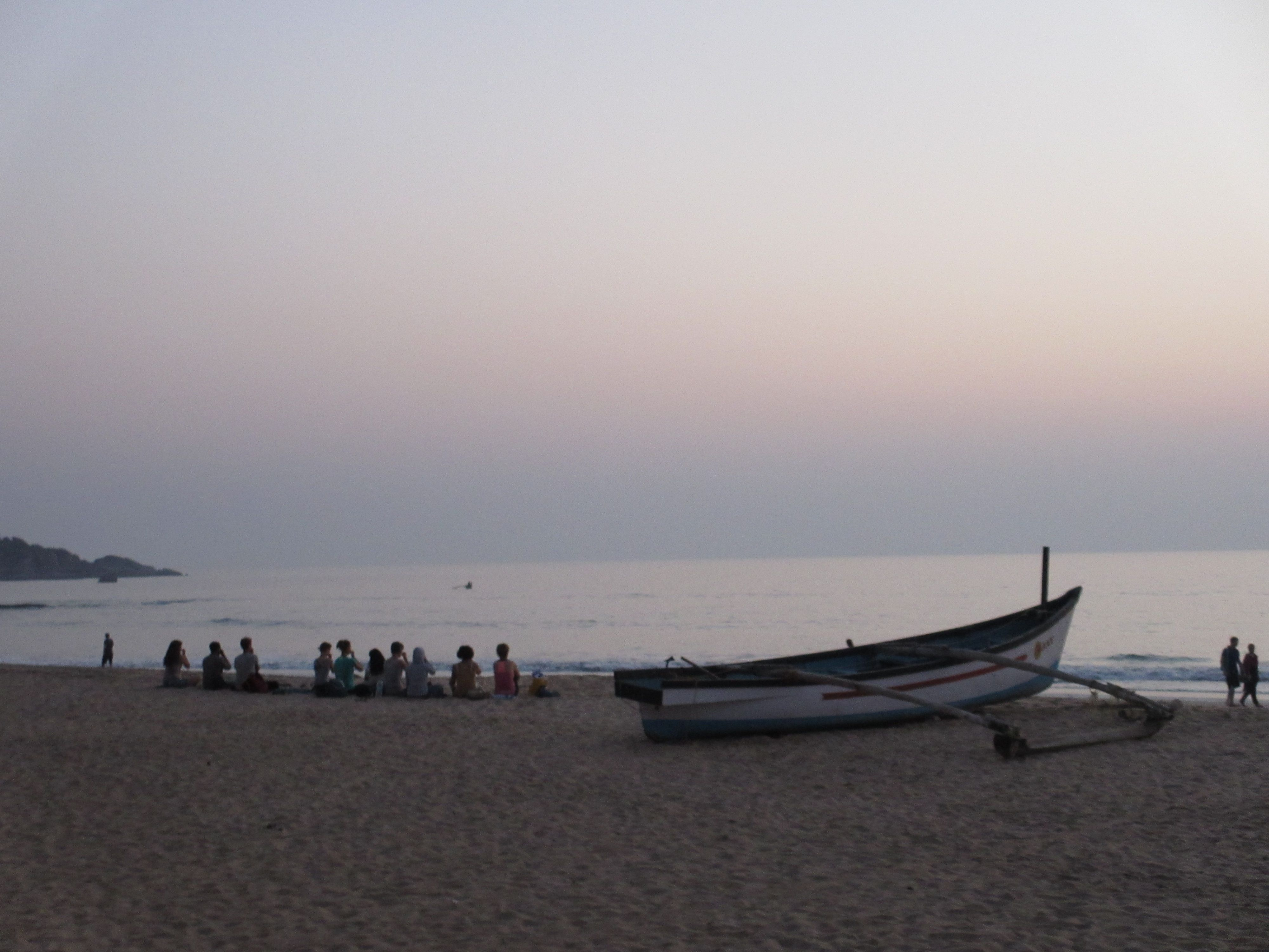 Meditation on the Agonda Beach