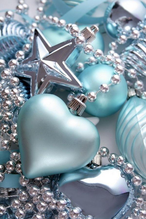 64 Blue Christmas Decorating Ideas for 2012 Christmas Pinterest