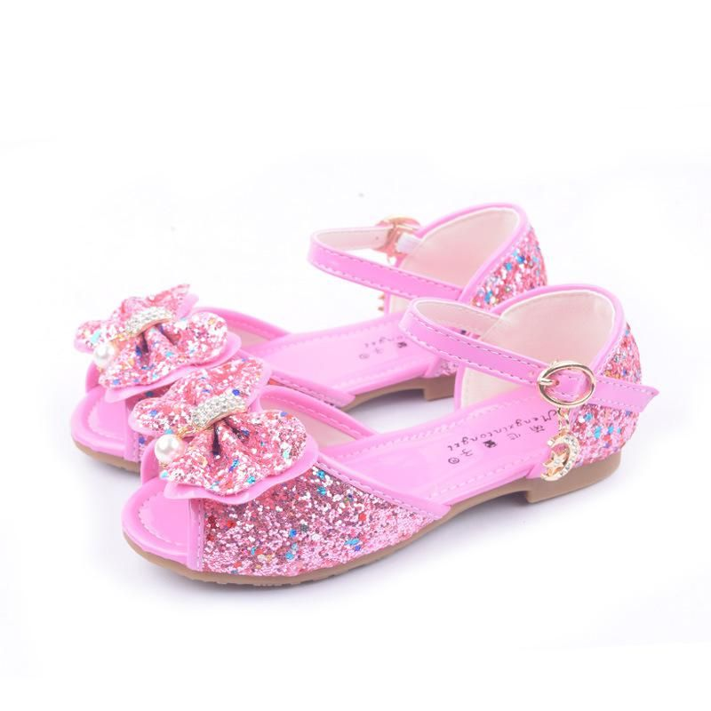 ddb2f05c58fb7a Girls Sandals Fashion Summer Child Shoes High Cute Girls Shoes Design  Casual Kids Sandals size 25