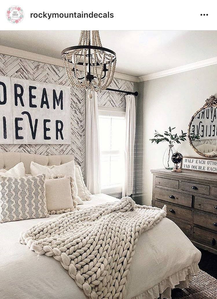 Farmhouse removable wallpaper by Rocky Mountain Decals